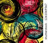 seamless background pattern ...   Shutterstock .eps vector #1261069567