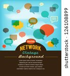 social network  media and... | Shutterstock .eps vector #126108899