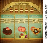 Sweet Menu For Confectionery I...