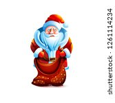 vector illustration isolated... | Shutterstock .eps vector #1261114234