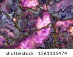 Natural Stone Purple Amethyst ...