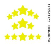 ranking stars vector. game...
