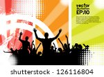 music event background | Shutterstock .eps vector #126116804