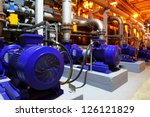 factory equipment | Shutterstock . vector #126121829