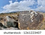 3000 years old ancient... | Shutterstock . vector #1261223407