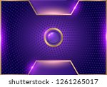 fantastic background .abstract... | Shutterstock .eps vector #1261265017