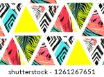 hand drawn vector abstract... | Shutterstock .eps vector #1261267651