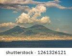 Naples  Seen From Posillipo On...