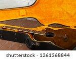 musical instrument   fragment... | Shutterstock . vector #1261368844