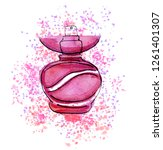 hand drawn sketch with little...   Shutterstock . vector #1261401307