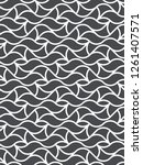seamless linear pattern with... | Shutterstock .eps vector #1261407571