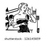 nightclub singer   retro... | Shutterstock .eps vector #126145859