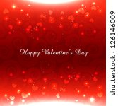 vector valentine day heart...   Shutterstock .eps vector #126146009