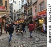 istanbul  turkey   november 7th ... | Shutterstock . vector #1261462267