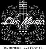 vector monochrome editable... | Shutterstock .eps vector #1261470454