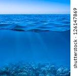 Still Calm Sea Water Surface...