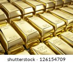 fine gold bars | Shutterstock . vector #126154709