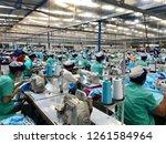 sisophon cambodia december 18... | Shutterstock . vector #1261584964