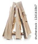 Chopped Beechwood Logs Arranged ...