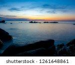 seascape show beautiful... | Shutterstock . vector #1261648861