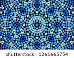 abstract geometric background... | Shutterstock . vector #1261665754