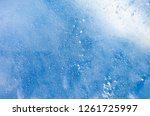 the texture of the ice. the... | Shutterstock . vector #1261725997