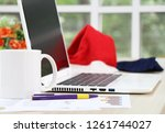 business and financial report... | Shutterstock . vector #1261744027