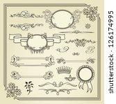 set of design elements | Shutterstock . vector #126174995