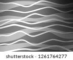 light silver  gray vector... | Shutterstock .eps vector #1261764277