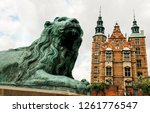 a statue of a lion  which... | Shutterstock . vector #1261776547