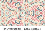 abstract ethnic pattern in...   Shutterstock . vector #1261788637
