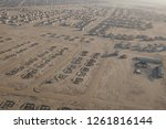 aerial views over the namib... | Shutterstock . vector #1261816144