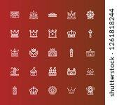 editable 25 kingdom icons for...   Shutterstock .eps vector #1261818244