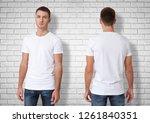 shirt design and fashion... | Shutterstock . vector #1261840351