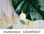 cosmetic nature skincare and... | Shutterstock . vector #1261852627
