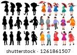 vector  on white background ... | Shutterstock .eps vector #1261861507
