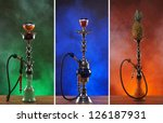 Different Hookahs Over The...