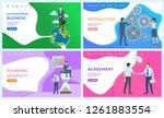 international business and... | Shutterstock .eps vector #1261883554