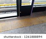 tactile tiles to navigate blind ... | Shutterstock . vector #1261888894