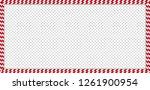christmas  new year rectangle...   Shutterstock .eps vector #1261900954