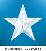 ice star   Shutterstock .eps vector #126192665