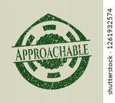 green approachable distress... | Shutterstock .eps vector #1261932574