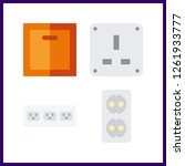 4 switch icon. vector... | Shutterstock .eps vector #1261933777