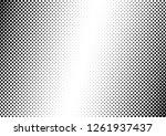 grunge dots background.... | Shutterstock .eps vector #1261937437