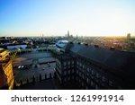 landscape of copenhagen  denmark | Shutterstock . vector #1261991914