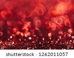 red abstract bokeh background ... | Shutterstock . vector #1262011057