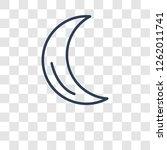 ramadan crescent moon icon.... | Shutterstock .eps vector #1262011741