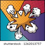 expression cloud with set... | Shutterstock .eps vector #1262013757