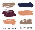 paint background texture stains ... | Shutterstock .eps vector #1262028277