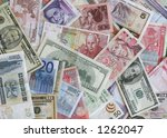 foreign currency | Shutterstock . vector #1262047
